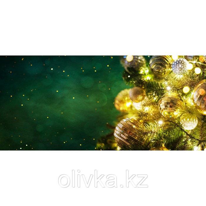 Фотобаннер, 300 × 200 см, с фотопечатью, люверсы шаг 1 м, «Светящаяся гирлянда»