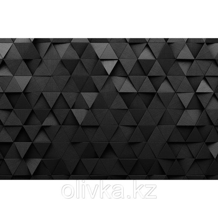 Фотобаннер, 300 × 200 см, с фотопечатью, люверсы шаг 1 м, «Чёрные треугольники»