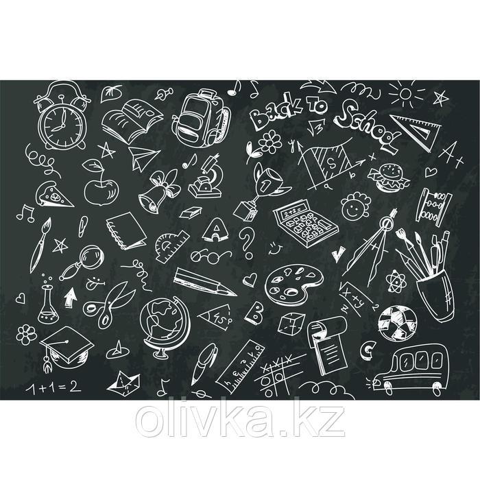 Фотобаннер, 300 × 200 см, с фотопечатью, люверсы шаг 1 м, «Back to school»