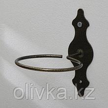 Поддержка для кашпо, d = 13 см, бронзовая