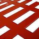 Ограждение декоративное, 35 × 210 см, 5 секций, пластик, терракотовое, RENESSANS, Greengo, фото 4