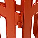 Ограждение декоративное, 35 × 210 см, 5 секций, пластик, терракотовое, RENESSANS, Greengo, фото 5