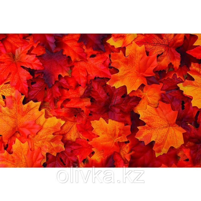 Фотобаннер, 300 × 200 см, с фотопечатью, люверсы шаг 1 м, «Осенние листья»