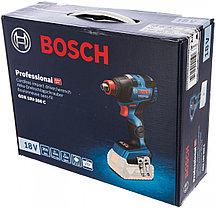 Аккумуляторный ударный шуруповерт/гайковерт, Bosch, GDX 18V-200 C, 06019G4204, без акб и зарядного устройства, фото 3