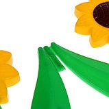 Ограждение декоративное, 32.5 × 225 см, 5 секций, пластик, жёлтый цветок «Ромашка», фото 5