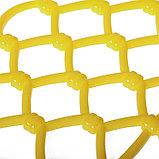 Ограждение декоративное, 28 × 280 см, 7 секций, пластик, жёлтое, «Фаберже», фото 5