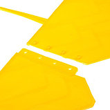 Ограждение декоративное, 14 × 310 см, 13 секций, пластик, жёлтое, «Домиком», фото 4
