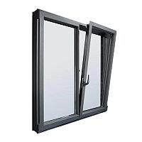 Поворотно-откидные алюминиевые окна, фото 1