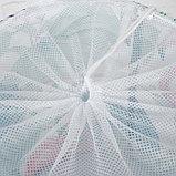 Корзина для хранения игрушек «Фламинго» 35×35×45 см, фото 2