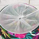 Корзина для хранения игрушек «Цветы» 35×35×45 см, фото 2