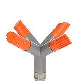 """Распылитель 4-лепестковый, 28 см, штуцер под шланги 1/2"""", 3/4"""", пика, ABS пластик, фото 2"""