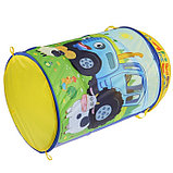 Корзина для игрушек «Синий трактор» 43х60 см, фото 3