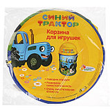 Корзина для игрушек «Синий трактор» 43х60 см, фото 4