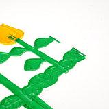 Ограждение декоративное, 30 × 372 см, 6 секций, пластик, МИКС, «Цветник № 1», фото 4