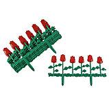 Ограждение декоративное, 30 × 372 см, 6 секций, пластик, МИКС, «Цветник № 1», фото 5