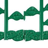 Ограждение декоративное, 30 × 372 см, 6 секций, пластик, МИКС, «Цветник № 1», фото 8