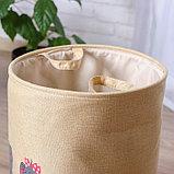 Корзинка для игрушек «Слонята» 35×35×45 см, фото 2