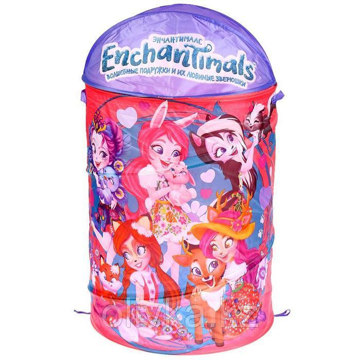 Корзина для игрушек Enchantimals
