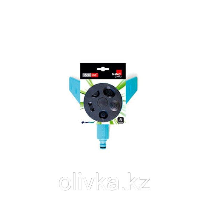 Распылитель многофункциональный, 5 режимов, под коннектор, пластик, MULTITCLICK