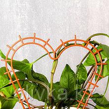 Шпалера, 29 × 27 × 0.3 см, пластик, цвет МИКС, «Сердечко»