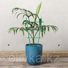 Шпалера, 32 × 19 × 0.5 см, пластик, зелёная