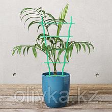 Шпалера, 37 × 19 × 0.5 см, пластик, зелёная