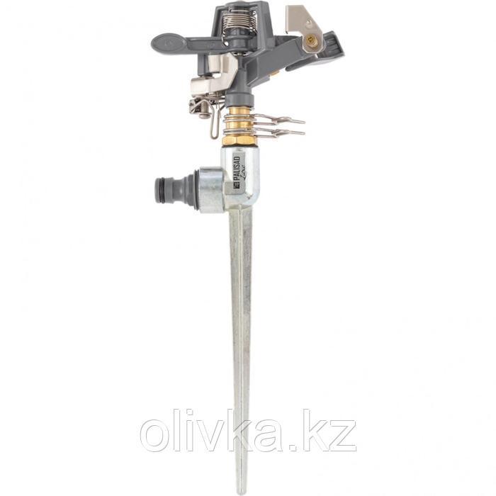 Разбрызгиватель импульсный (латунный) со штырём, LUXE