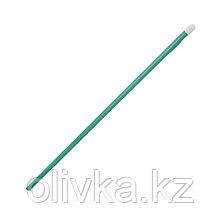 Колышек для подвязки растений, h = 50 (± 5) см, d = 1 см, металл, зелёный, Greengo