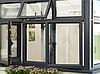 Алюминиевые окна и двери без термобарьера (холодная серия)