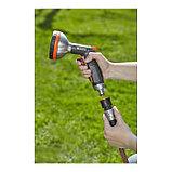 "Коннектор с аквастопом, 1/2"" (12 мм) – 5/8"" (16 мм), пластик, GARDENA Premium, фото 3"
