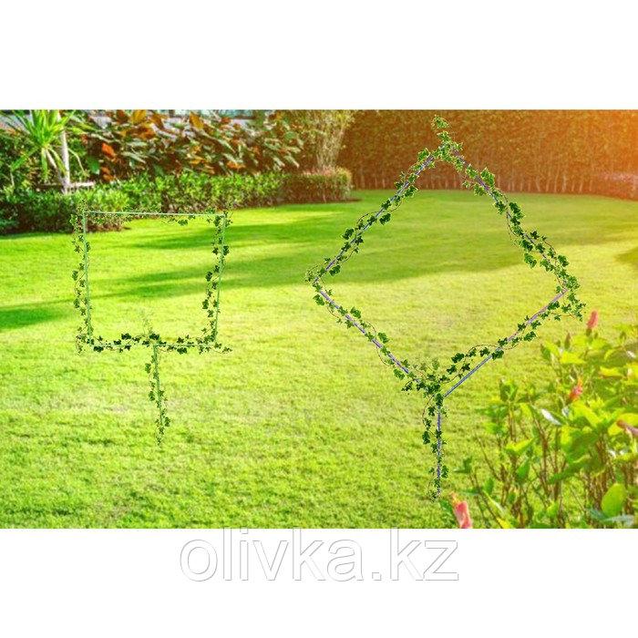 Проволочная опора «Квадрат», зелёная