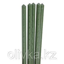Колышек для подвязки растений, h = 75 см, d = 0.8 см, набор 5 шт., металл в пластике