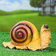 """Садовая фигура """"Улитка Валли"""", разноцветный, 14 см, микс"""