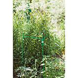 Кустодержатель, 35 × 35 см, h = 100 см, ножка d = 1 см, металл, зелёный, фото 4