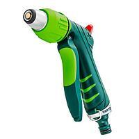 Пистолет-распылитель (2-х режимный, рег/форсунка, напор регул/пальцем, курок спереди) двухкомп 676