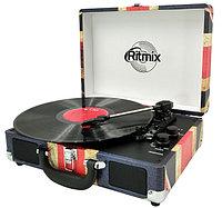 Проигрыватель виниловый Ritmix LP-120B UK Flag