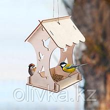 Кормушка для птиц «Птички», 15 × 16 × 24 см, Greengo