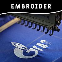 Вышивка логотипов для корпоративных клиентов