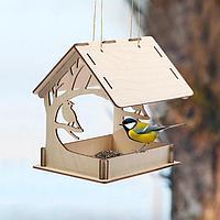 Кормушка для птиц «Птица на дереве», 15 × 19 × 17 см
