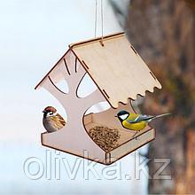 Кормушка для птиц «Дерево», 18 × 16 × 15 см, Greengo