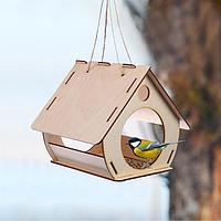 Кормушка для птиц «Бочка», 20 × 19 × 17 см, Greengo