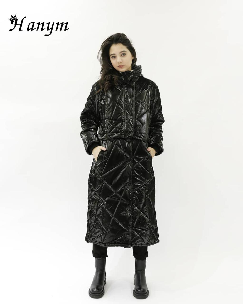 Черная куртка HANYM (2021, весна)