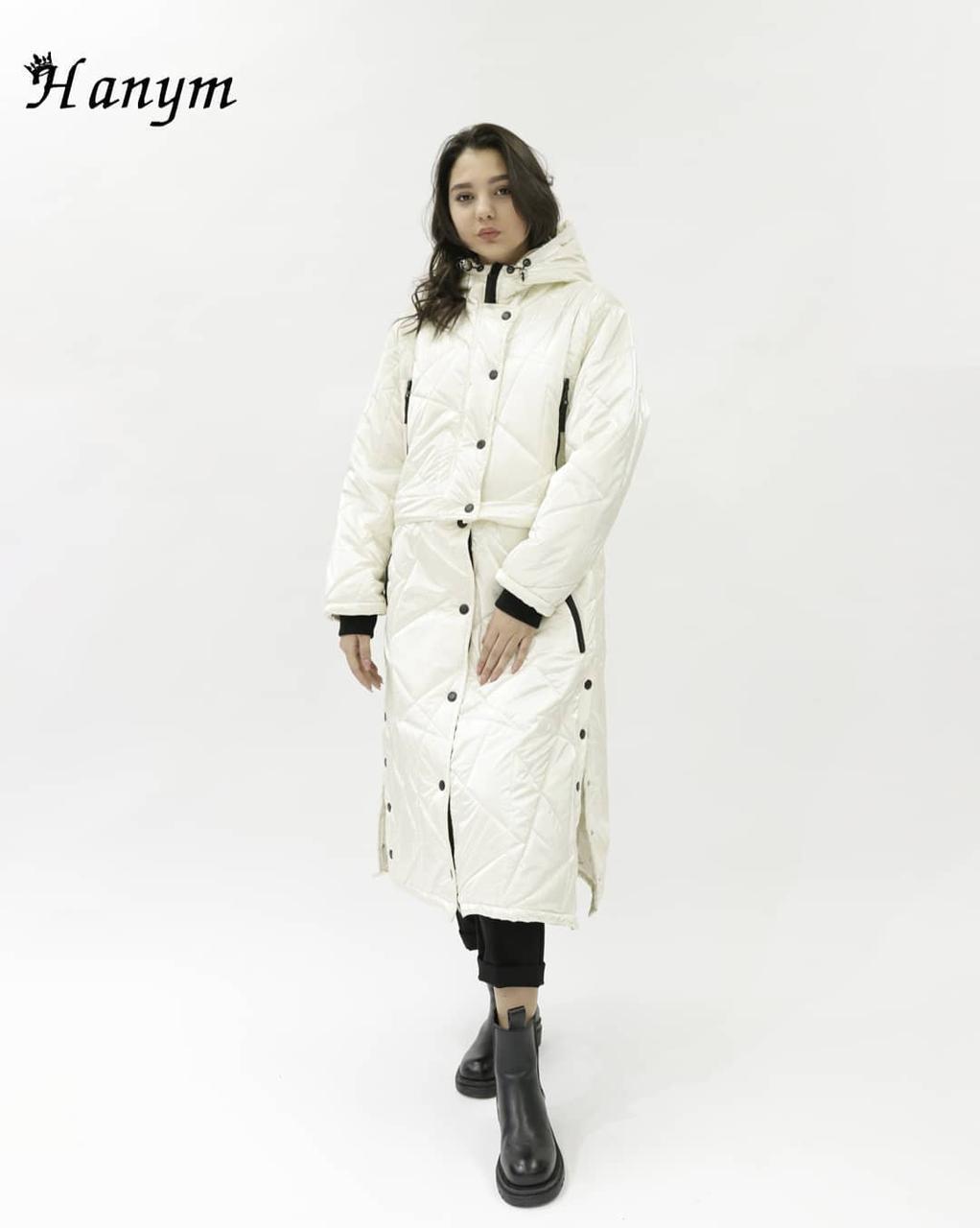 Женская куртка из плащевки (свободный крой)