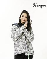 Куртка с оригинальным принтом (весна), фото 1