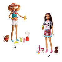 "Barbie: Куклы ""Сестры и щенки"""
