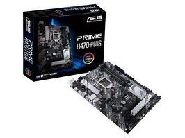 Материнская плата ASUS PRIME H470-PLUS LGA1200 4xDDR4 6xSATA3 2xM.2 DP HDMI 3xPCIe3.0 ATX