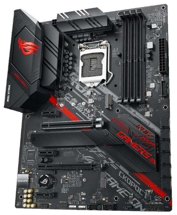 Материнская плата ASUS ROG STRIX B460-H GAMING LGA1200 4xDDR4 6xSATA3 2xM.2 HDMI DP ATX
