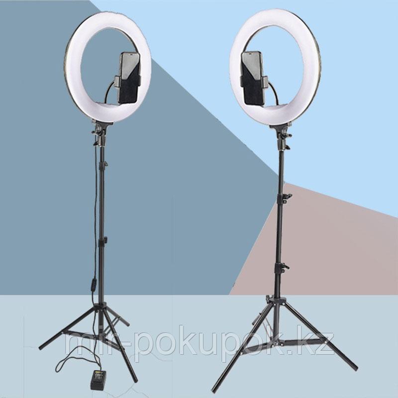 Кольцевая лампа напольная, 30 см