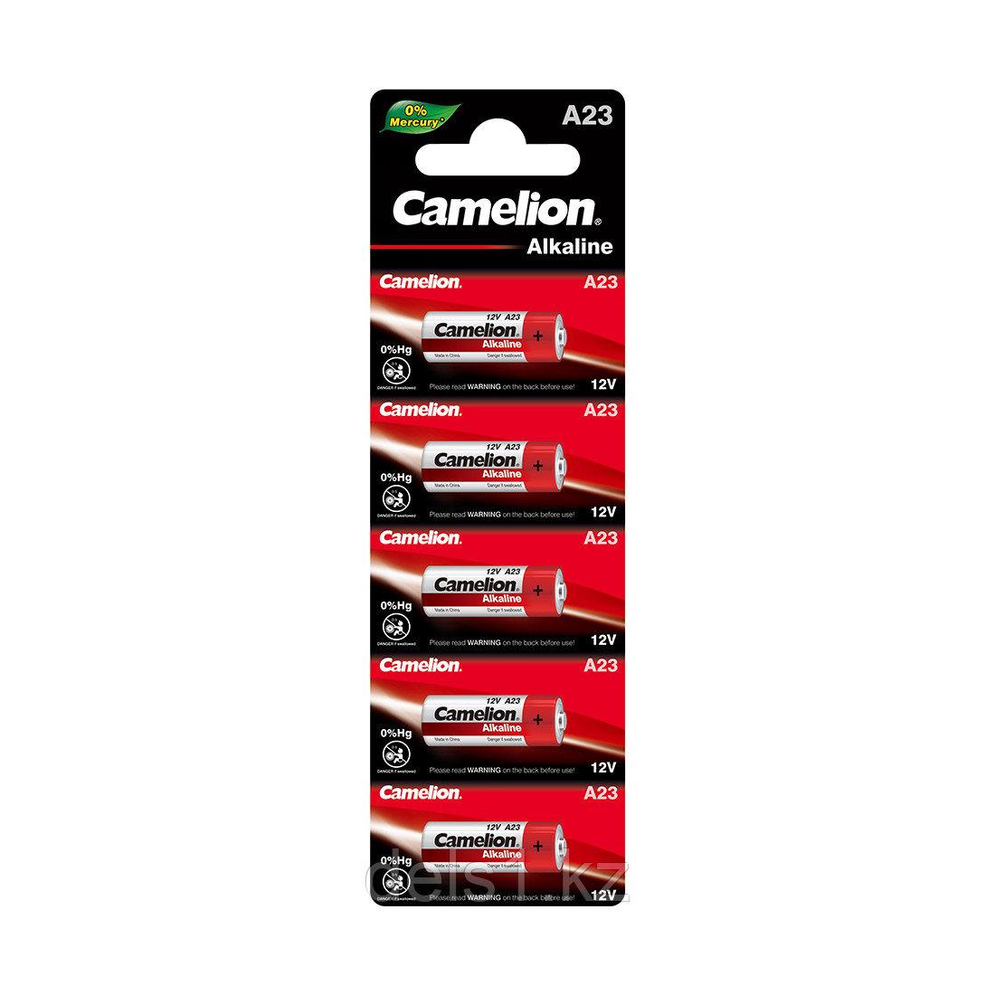 Батарейка, CAMELION, A23-BP5, 12V, 0% Hg (0% Ртути), 5 шт. в Блистере