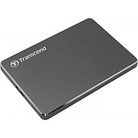 Внешний жесткий диск HDD Transcend 2000 Gb USB 3.1 Gen1 Серый (TS2TSJ25C3N)
